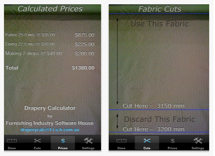 Online Interior Design Drapery Calculator App Online Interior Design Calculator App App