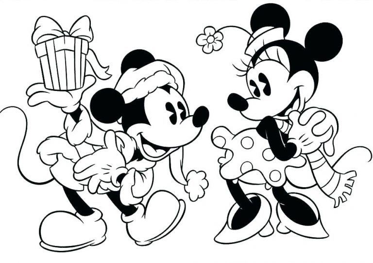 Mickey Mouse Christmas Coloring Pages Best Coloring Pages For Kids Mickey Mouse Coloring Pages Disney Coloring Pages Minnie Mouse Coloring Pages
