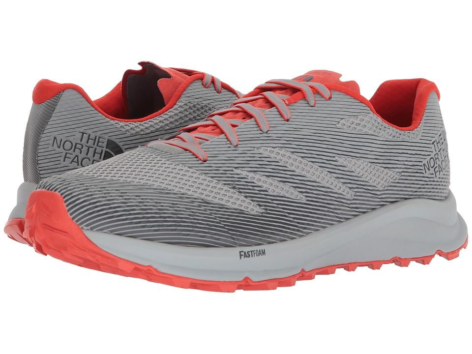 7201f0210 The North Face Ultra TR III Men's Shoes Griffin Grey/Poinciana ...