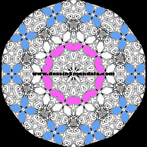 mandala a colorier numero 32 mandala coloriage adulte via