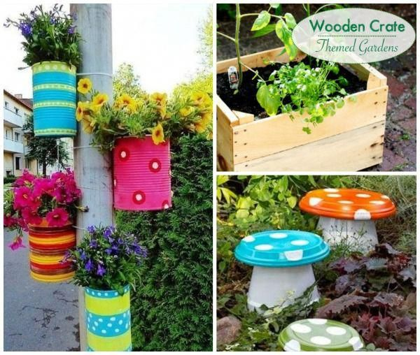 Over 40 super creative garden spaces  ideas for kids These are so