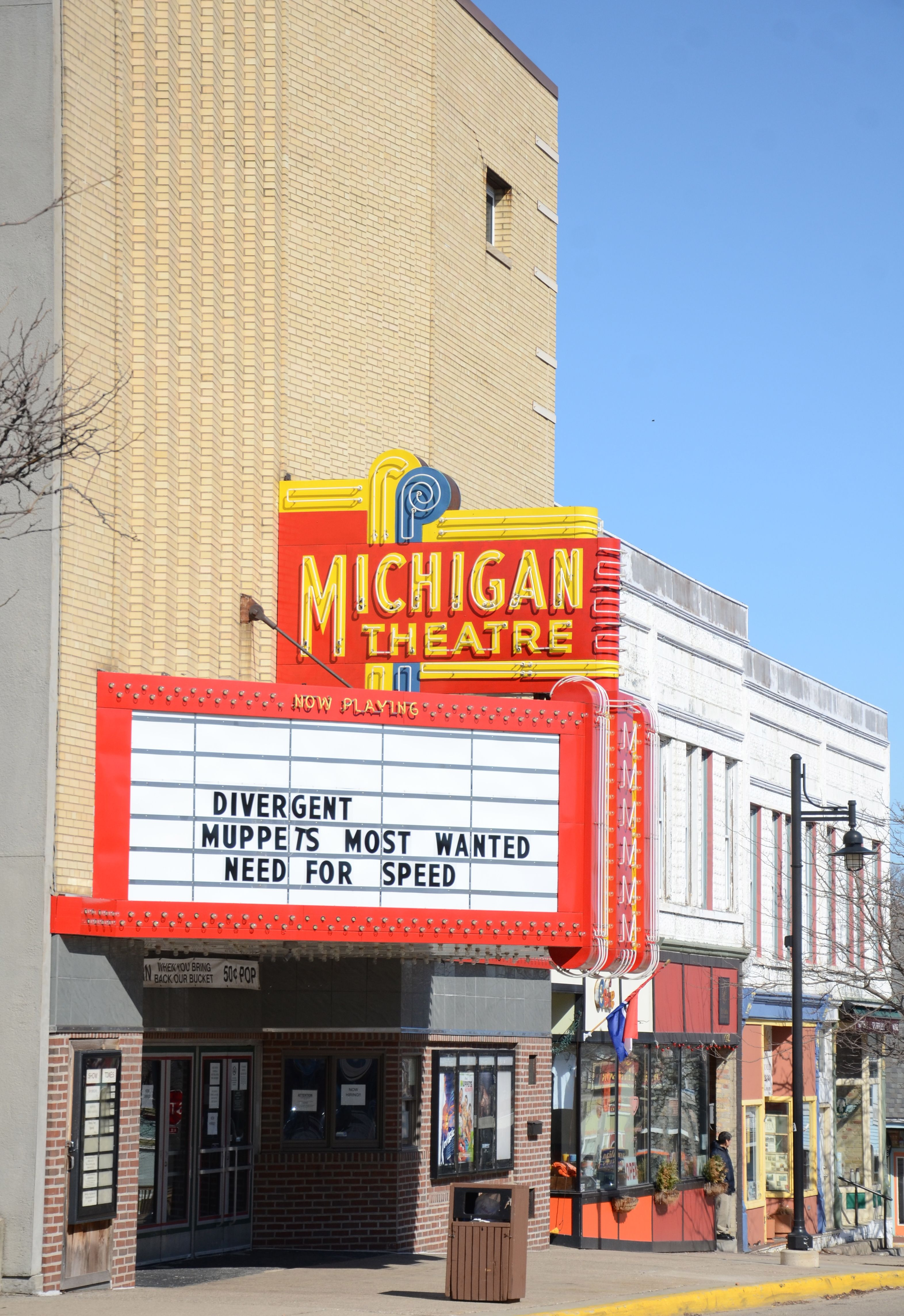 Movie Theater South Haven Michigan Muppets Most Wanted Movie