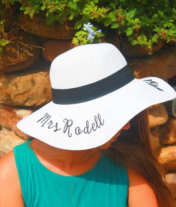 Personalized Beach Hat 2649b464629