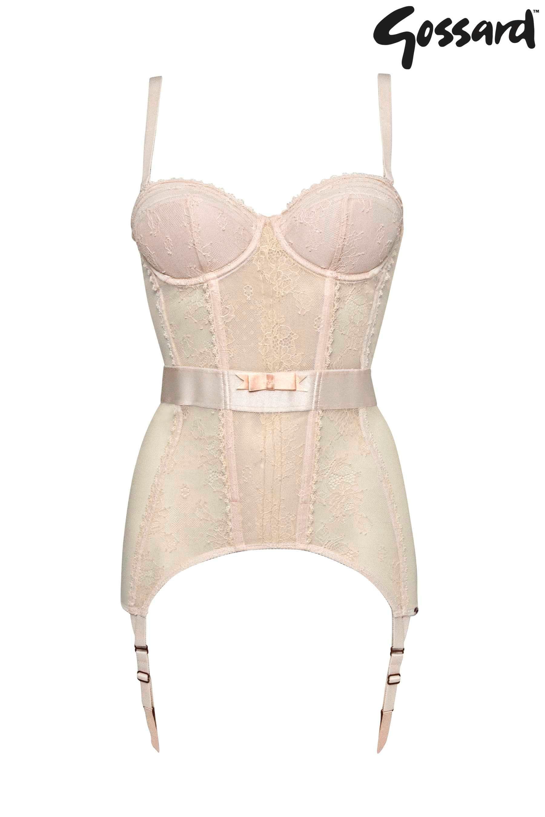 Buy Gossard™ Ivory Corselette Bra from the Next UK online shop ...