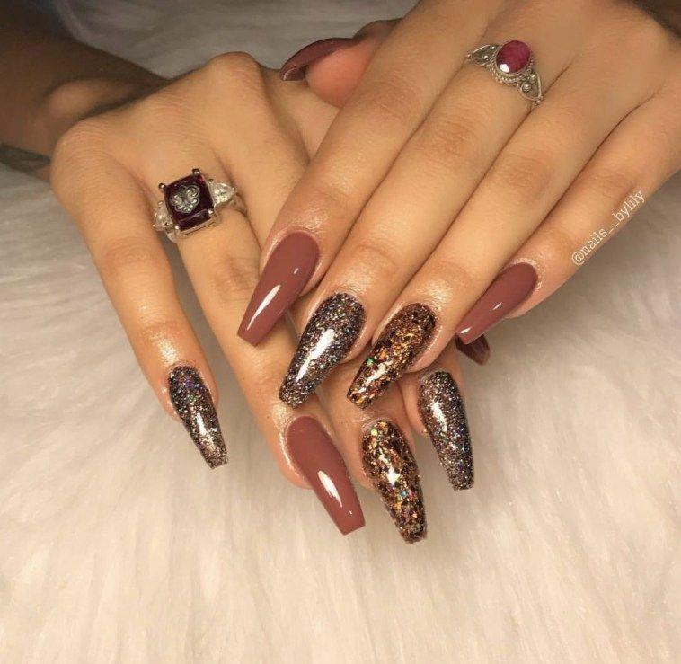 46 Hottest Winter Nail Colors 2018 Ideas Fashionssories Com Nail Colors Nail Colors Winter November Nails Colors