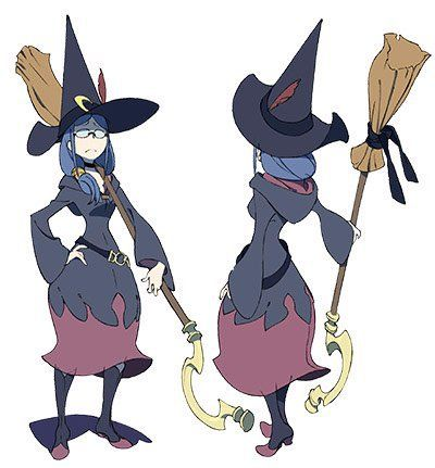 Little Witch Academia Tv Anime Character Designs Ursula