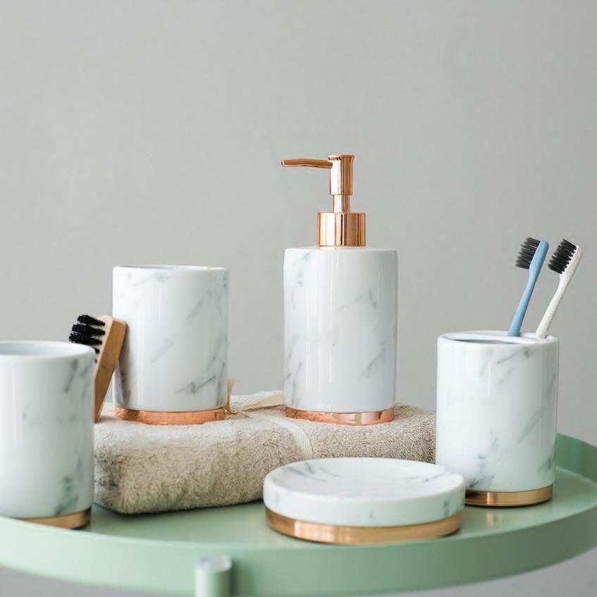 Photo of Scentimental Bathroom Accessories Set