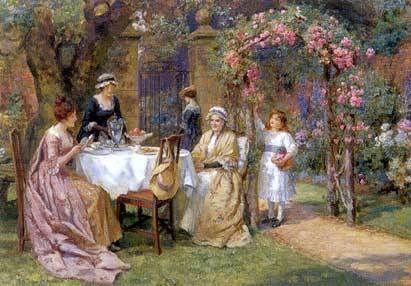 Pin by Enna Hoppinstomper on A Spot of Tea | Victorian tea party, Tea party  garden, Tea art