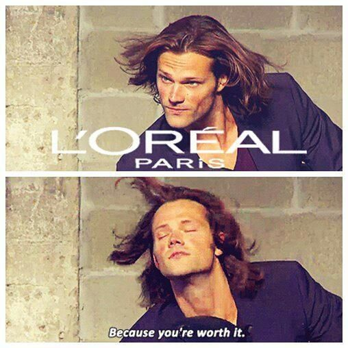 Cause he's worth it Supernatural is so stinkin awesome