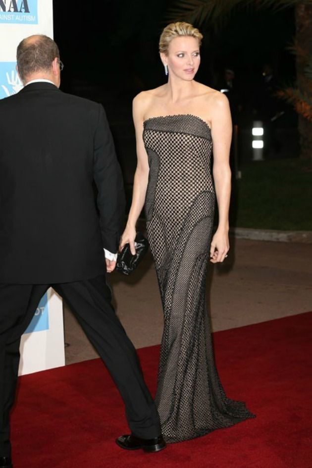 11.15.12 - Prince Albert II and Princess Charlene of Monaco in Akris S13 at Gala Night Against Autism in Monte Carlo