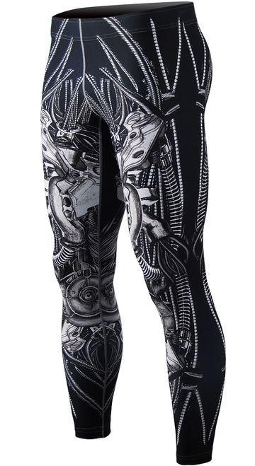 Mens tights compression full pants.