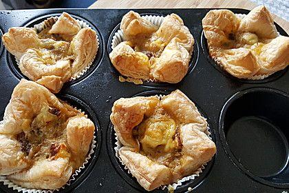 Herzhafte Blätterteig - Gehacktes - Muffins (Rezept mit Bild)   Chefkoch.de