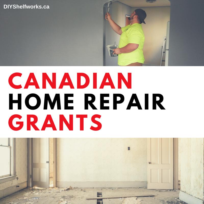 Canadian Home Repair Grants | Home repair, Home renovation ...
