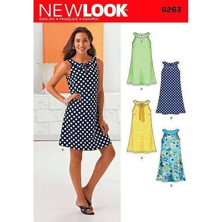 Plus Size Swing Dress Sewing Pattern Google Search Sewing