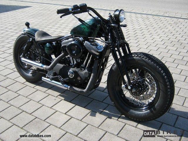 2001 harley davidson sportster bobber motorcycle chopper. Black Bedroom Furniture Sets. Home Design Ideas