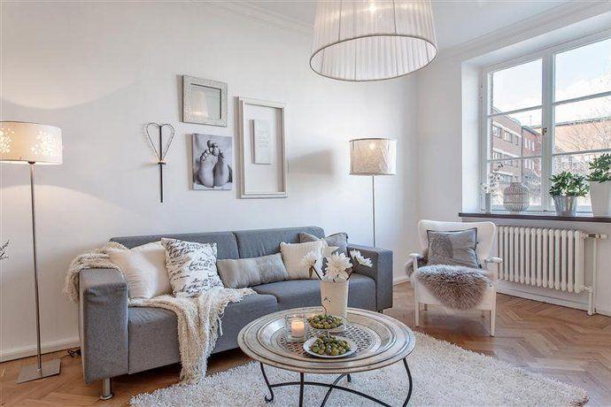 Vardagsrum vardagsrum soffa : Bilder, Vardagsrum, Grått, Matta, lampor, Soffa - Hemnet ...