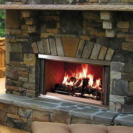 Majestic Montana Outdoor Wood Fireplace - 42 ...
