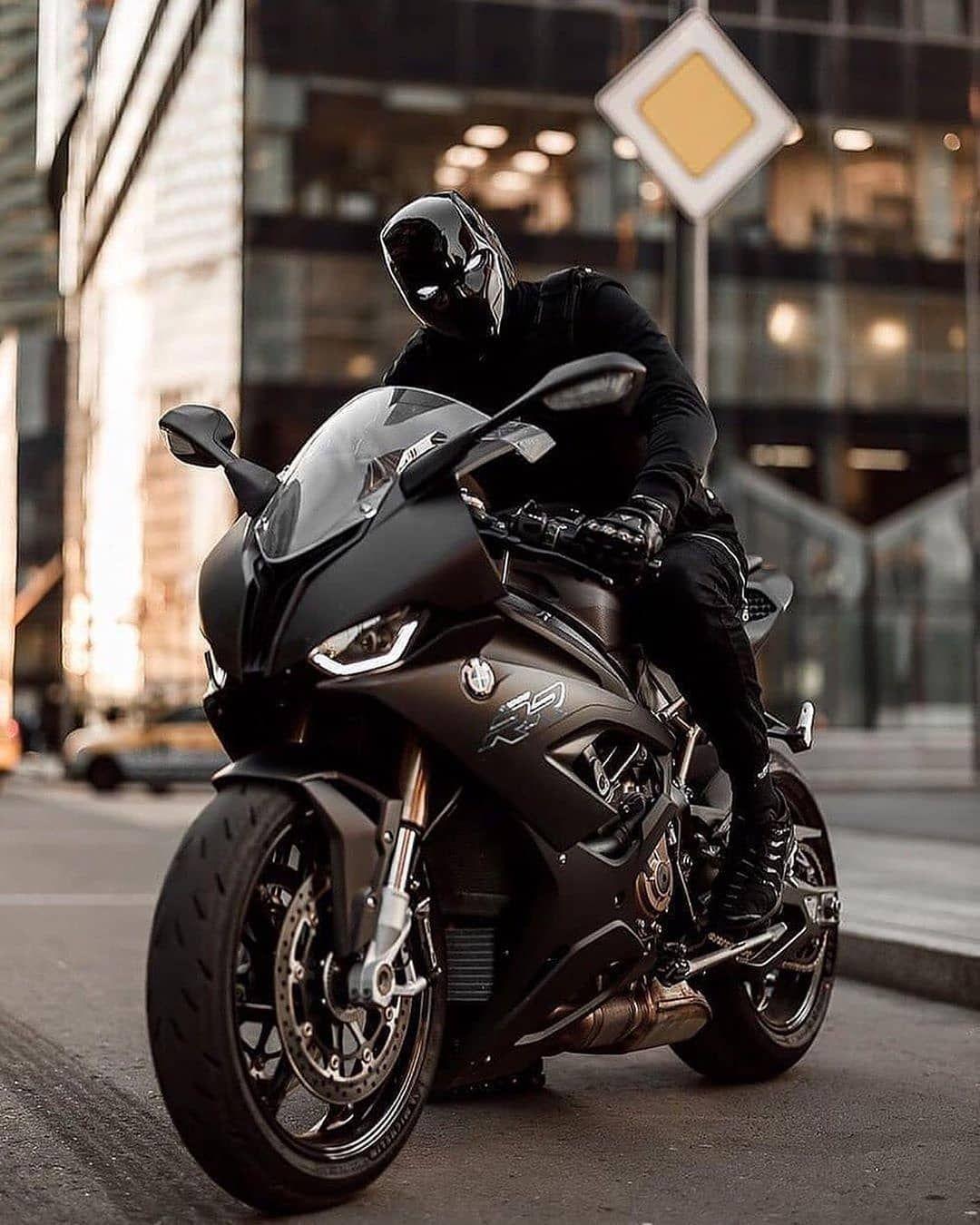 Matte Black Bmw S1000rr In 2020 Sport Bikes Matte Black Bmw Super Bikes