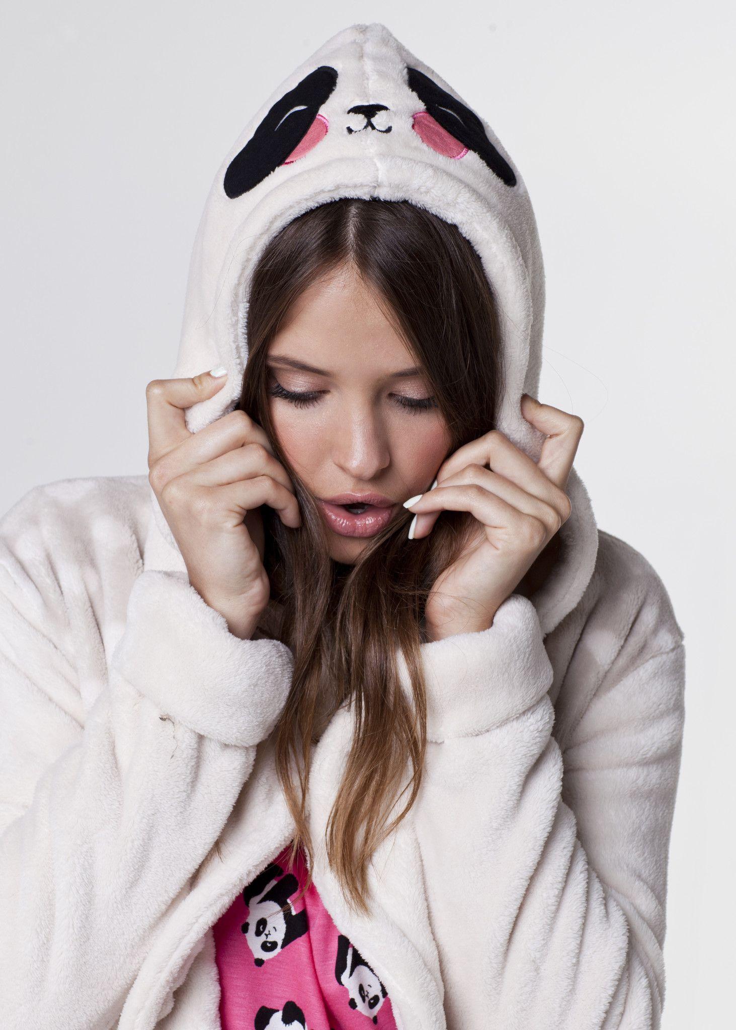 Panda Face Dressing Gown | Fruitcake | Pinterest | Panda, Dressings ...