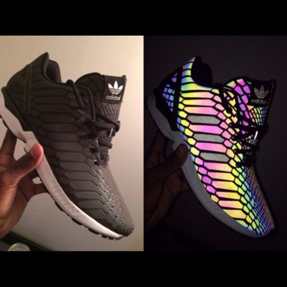 Adidas zx flux xeno grey size 14 Mens sneakers NWT