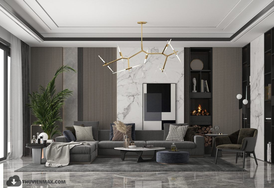 3d Interior Scenes File 3dsmax Model Livingroom 278 By Huyhi