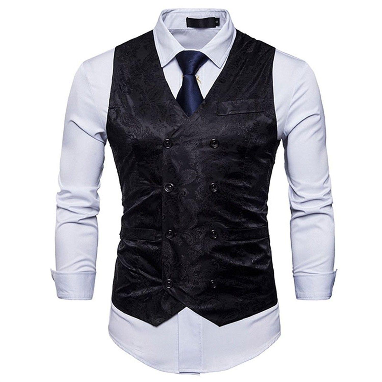 Mens Business Suit Vest Waistcoat Wedding Dress Vest Slim Fit Black Cr18cilt99h Casual Suit Vest Business Suit Vest Mens Suit Vest [ 1500 x 1500 Pixel ]
