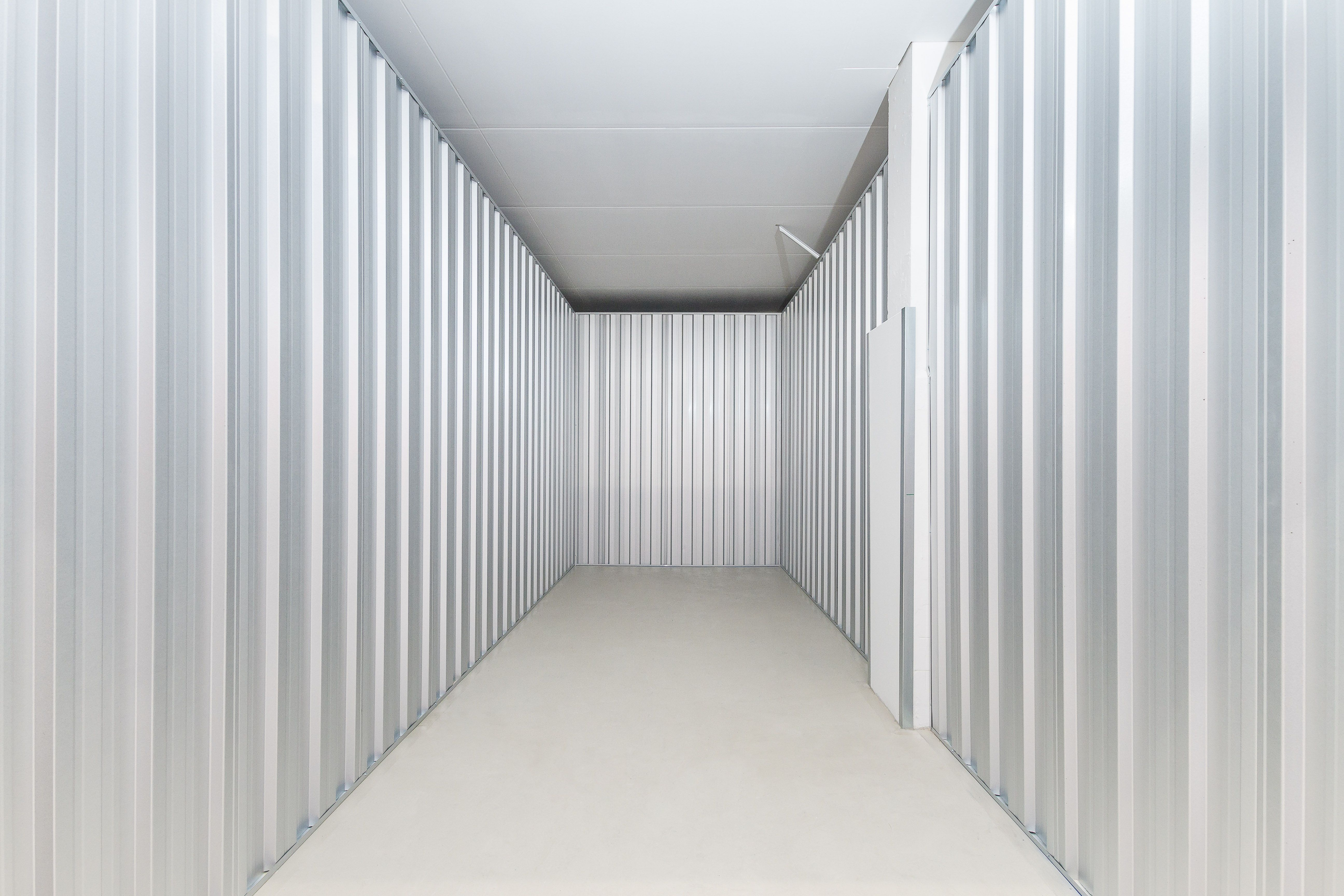 Eine große Lagerbox