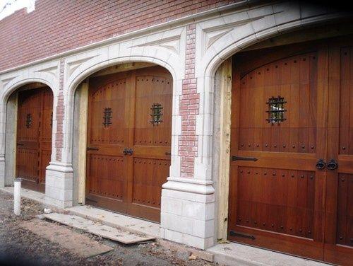 Dress your garage door up with this decorative hardware for Dress up your garage door