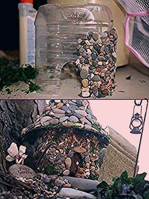 Photo of DIY Miniatur Steinfee Haus Tutorial