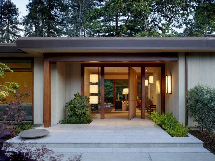 original diseño terraza moderna puerta casas Richard Pinterest