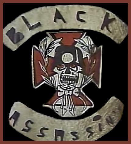 0011 Black Assassins. Bronx, NY street gang. 1970's Club