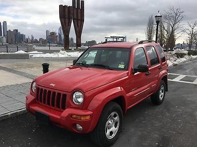 Ebay 2002 Jeep Liberty Limited 4dr 4wd Suv 2002 Jeep Liberty Limited 4dr 4wd Suv 100105 Miles Red Suv Jeep Jeeplife Usd With Images Jeep Liberty 2006 Jeep Liberty Jeep
