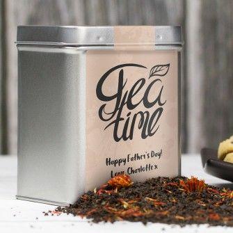 Tea Time Personalised Tea