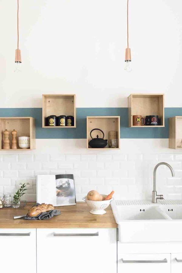 8 regole per usare il colore nella tua cucina #hogarhabitissimo - küchen regale ikea