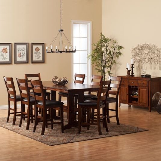 Candice Counter Height Dining Room Collection Jerome S Furniture