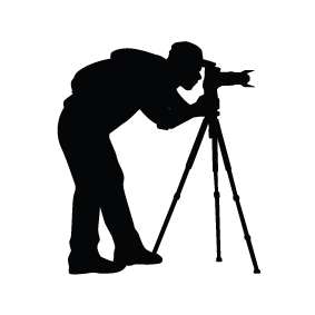 Photographer Silhouette Image 2 Png 283 283 Photo Logo Photographers Camera Logos Design Photographer Logo
