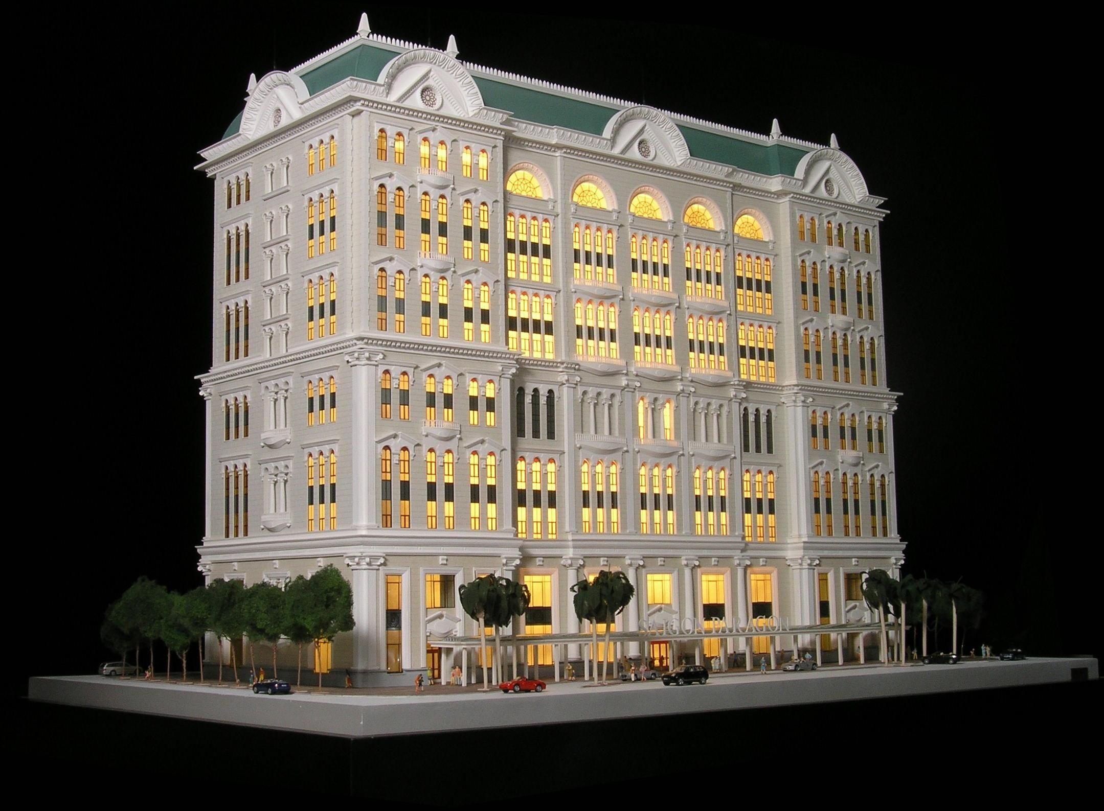 architectural engineering models. Downtown Building Model. Architectural Engineering Models