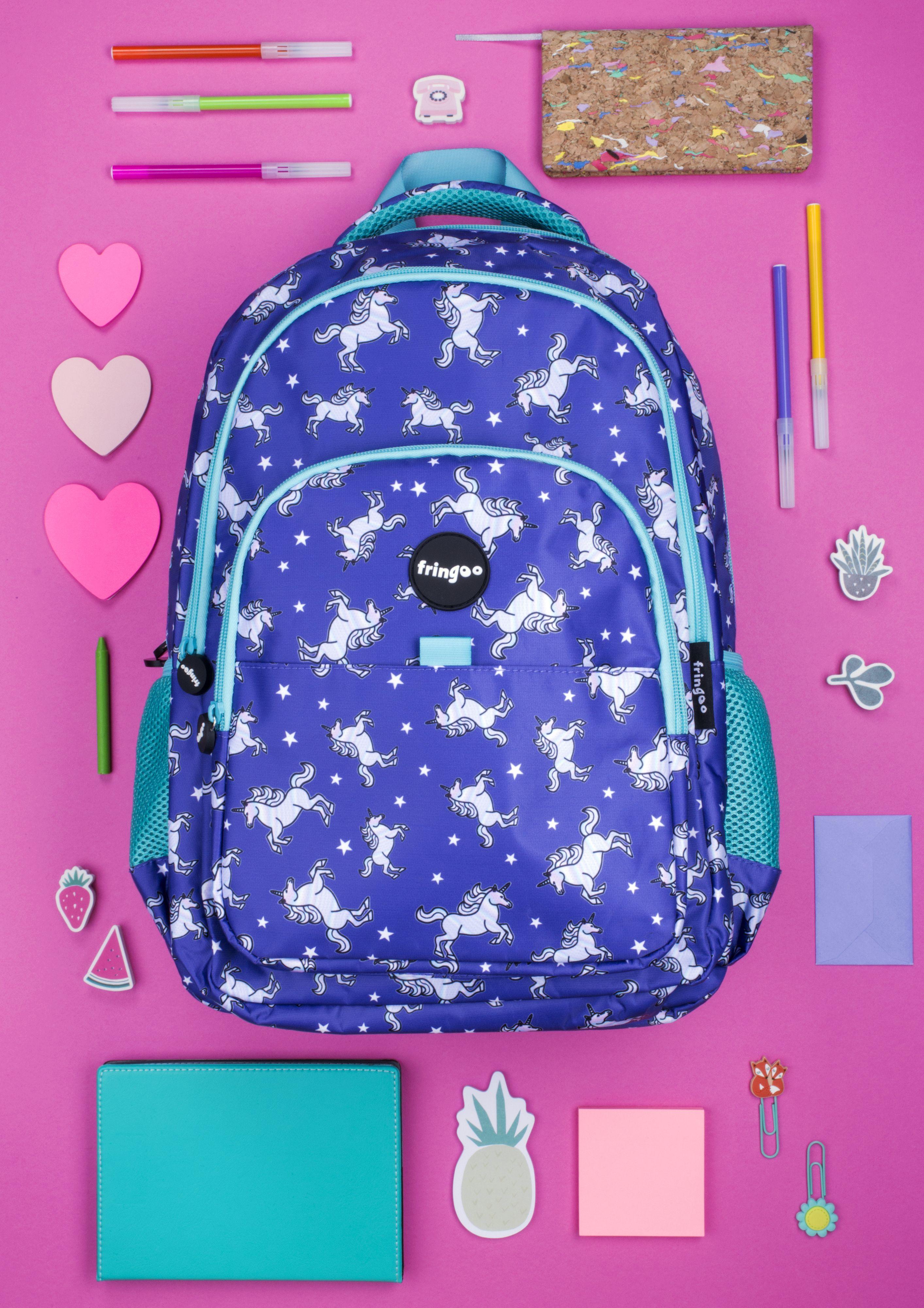 b2ecc76306cc Unicorn backpack for girls. Imaginative unicorn patterned rucksack for kids  and teenagers. Amazing back to school gift.