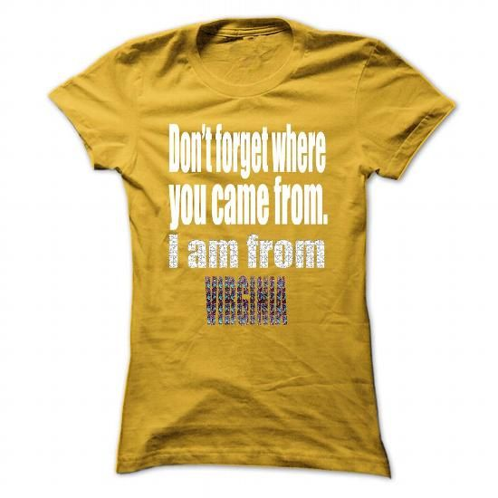 Don't forget where you came from I am from Virginia T Shirts, Hoodies. Get it here ==► https://www.sunfrog.com/States/Limited-Edition-Dont-forget-where-you-came-from-I-am-from-Virginia-Yellow-22062338-Ladies.html?41382 $19