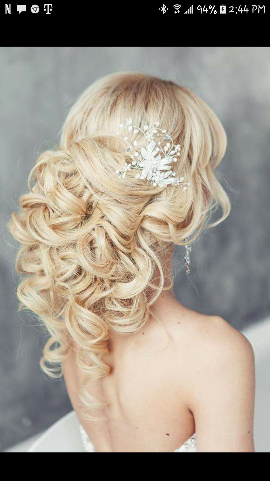 Beautiful hairstyle loved it e day Pinterest
