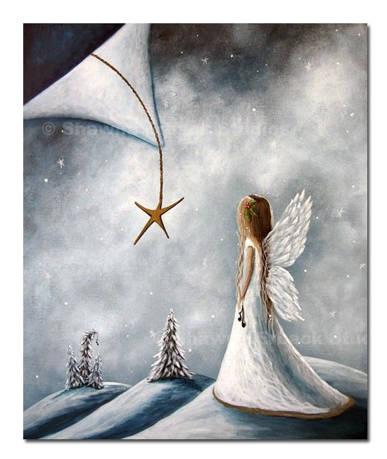 Small+Angel+Wings+footprint | ACEO MINIATURE ART print ...