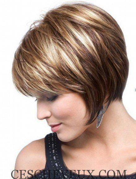 Coupe de cheveux avec frange tres courte