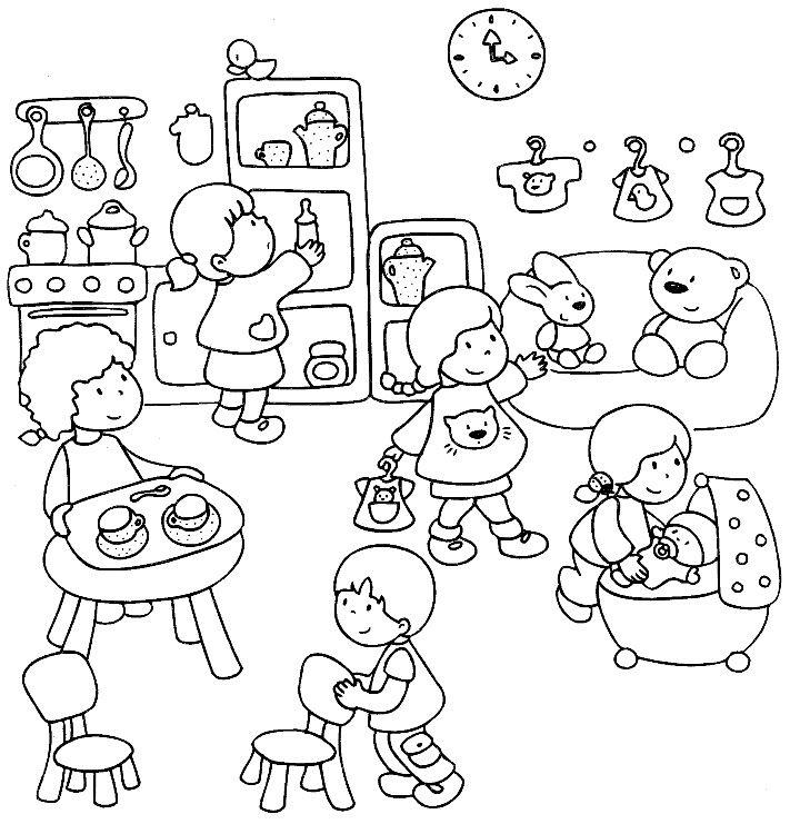 Sequenze Di Azioni Quotidiane Azioni Preschool Activities