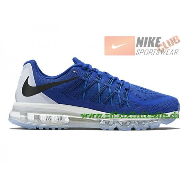 new style d5051 ca885 ... best price nike air max 2015 chaussures de running pour homme bleu  blanc 698902 400 4a855
