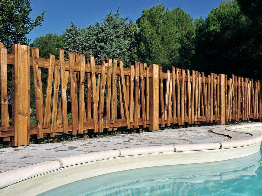 Cloture Bois Papyrus Cloture Bois Cloture Jardin Bois Barriere