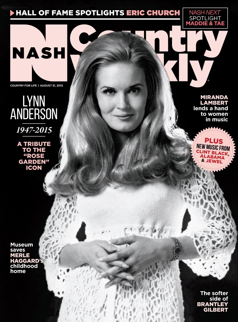 Pin on Nash Country Weekly Covers