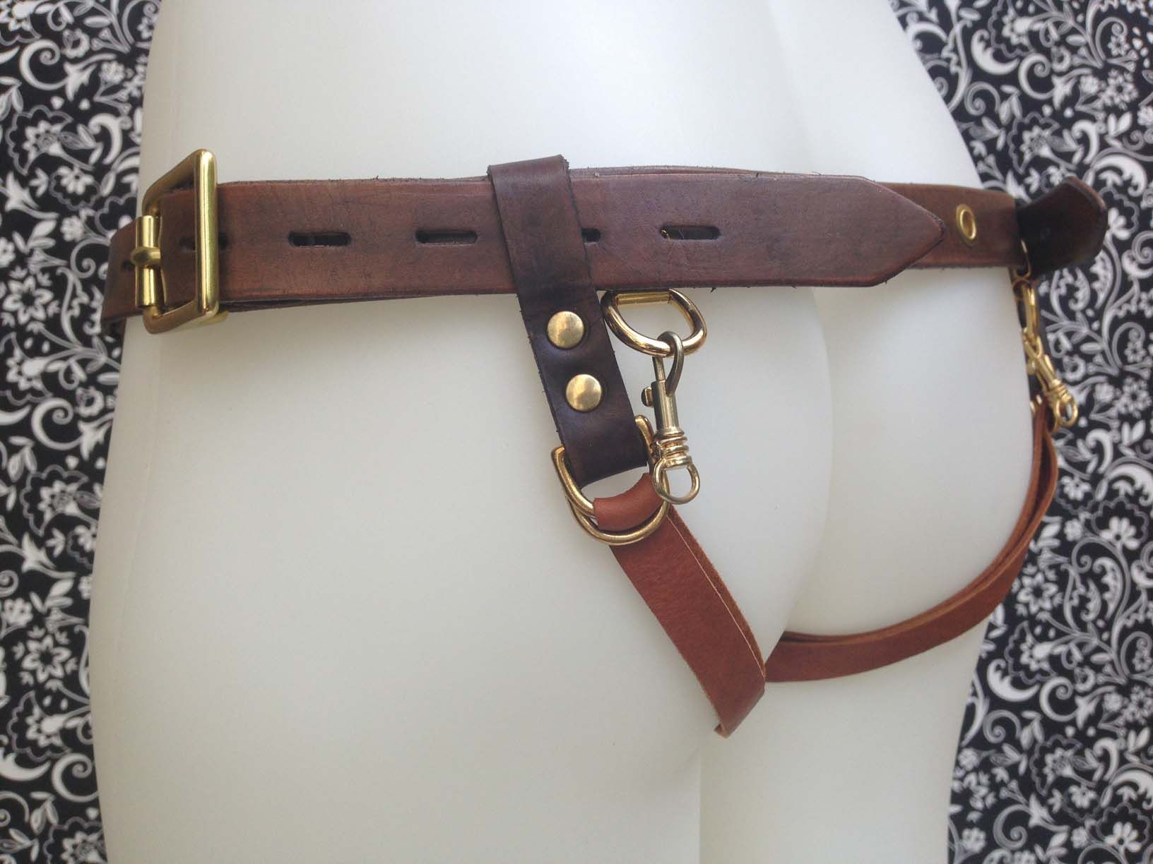 Mens Leather Shoulder Straps Body Chest Harness O Rings Costume Fancy Belt Party