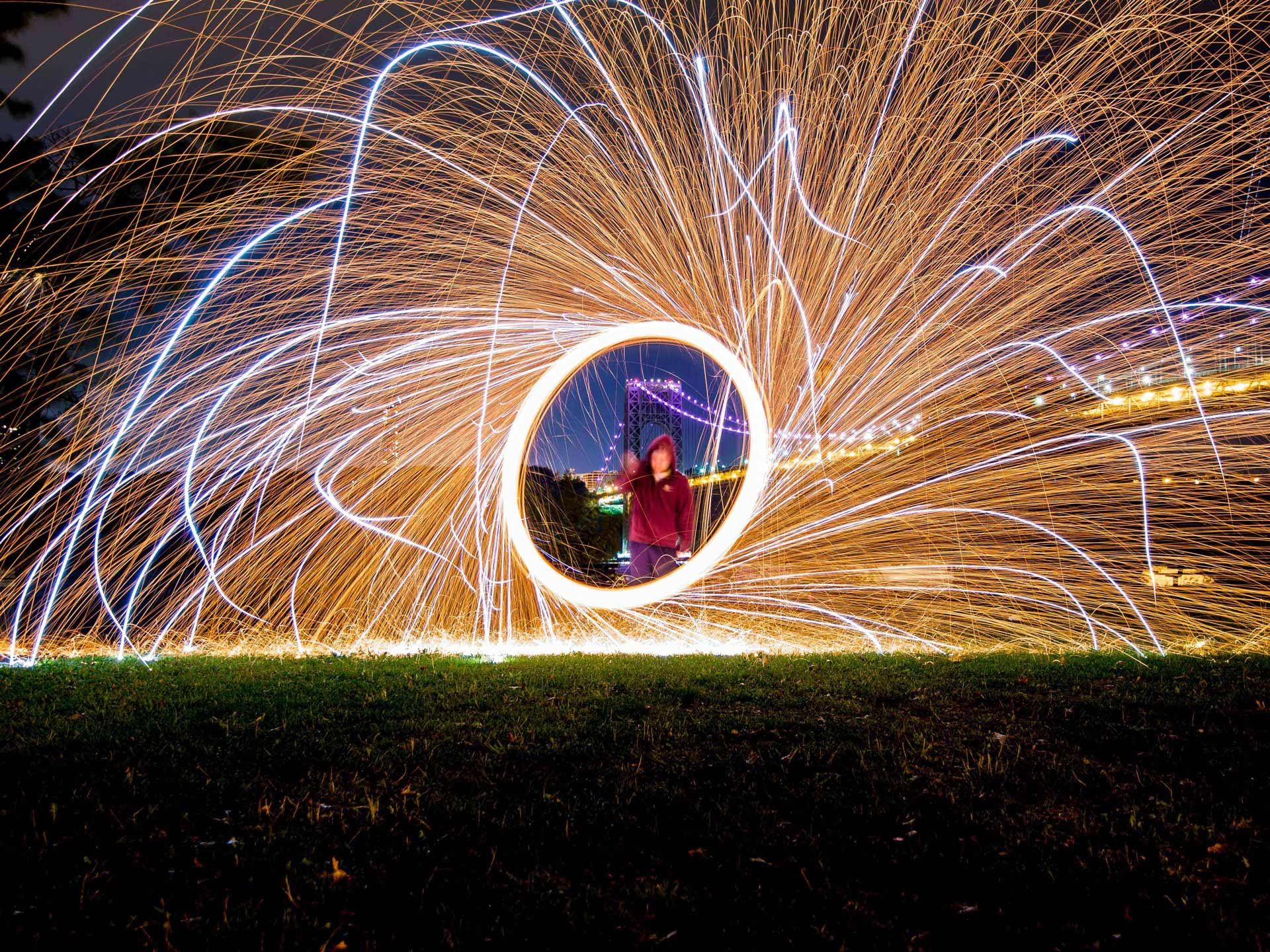 How to Spin Steel Wool