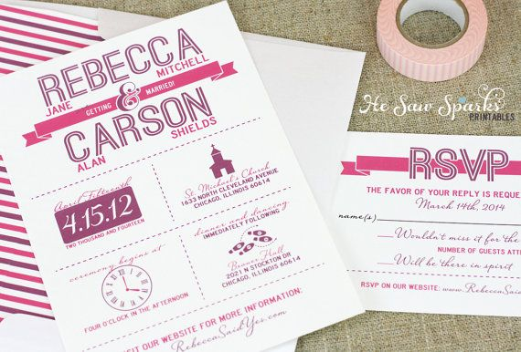 Pretty Wedding Invites Love The Symbols So Unique