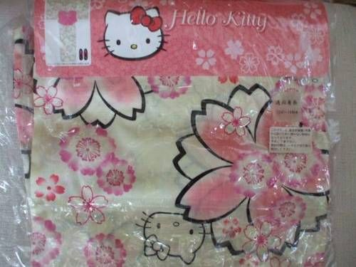 New Hello Kitty Sakura Cherry Blossoms Pouch Pink from JAPAN